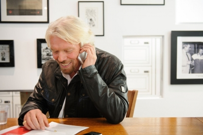 Richard Branson's method in action